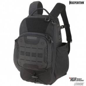 Городской рюкзак Maxpedition Lithvore™ Everyday Backpack Black