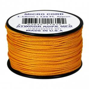 Микрокорд Atwood Rope MFG 1,18мм Micro Cord - Air Force Gold