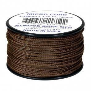 Микрокорд Atwood Rope MFG 1,18мм Micro Cord - Brown