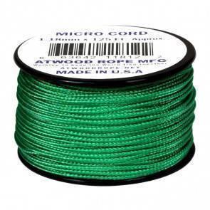 Микрокорд Atwood Rope MFG 1,18мм Micro Cord - Green