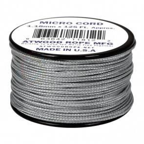 Микрокорд Atwood Rope MFG 1,18мм Micro Cord - Grey