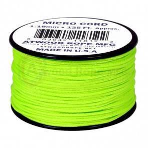 Микрокорд Atwood Rope MFG 1,18мм Micro Cord - Neon Green
