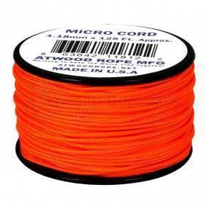 Микрокорд Atwood Rope MFG 1,18мм Micro Cord - Neon Orange