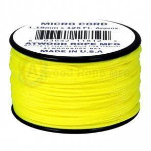 Микрокорд Atwood Rope MFG 1,18мм Micro Cord - Neon Yellow