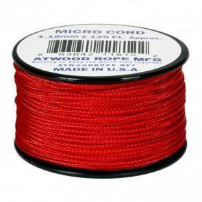 Микрокорд Atwood Rope MFG 1,18мм Micro Cord - Red