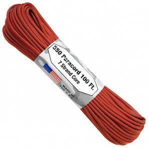 Паракорд Atwood Rope MFG 550 Color Changing Patterns Molten Orange