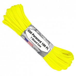 Паракорд Atwood Rope MFG 550 Neon Yellow