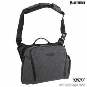 Тактическая городская сумка Maxpedition Entity Crossbody Bag L Charcoal