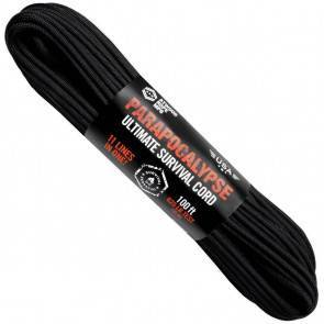 Паракорд Atwood Rope MFG 650 Parapocalypse Black