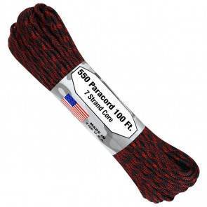 Паракорд Atwood Rope MFG 550 Red Hawk