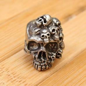 Череп Schmuckatelli Mind Skull Steel Mind Skull