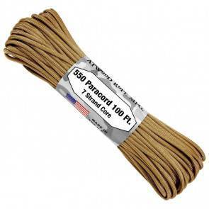 Паракорд Atwood Rope MFG 550 Tan