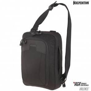 Однолямочный рюкзак Maxpedition Valence™ Tech Sling Pack Black