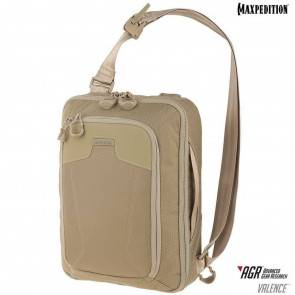 Однолямочный рюкзак Maxpedition Valence™ Tech Sling Pack Tan