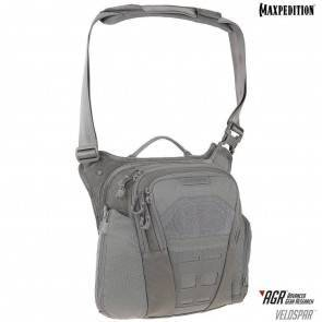 Тактическая сумка Maxpedition Veldspar™ Crossbody Shoulder Bag Gray